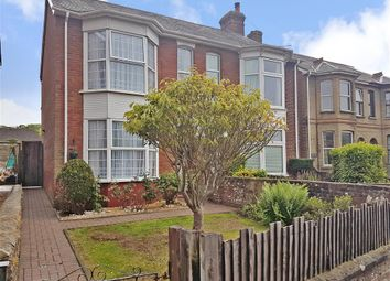 Thumbnail 3 bed semi-detached house for sale in Carisbrooke Road, Newport, Isle Of Wight