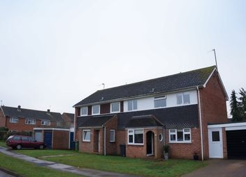 Thumbnail 3 bed semi-detached house for sale in Charlbury Road, Shrivenham, Swindon