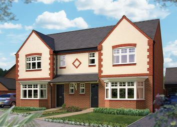 "Thumbnail 3 bed semi-detached house for sale in ""The Lichfield"" at Harbury Lane, Heathcote, Warwick"