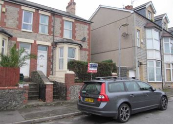 Thumbnail 3 bed end terrace house to rent in Courtenay Road, Barry, Vale Of Glamorgan