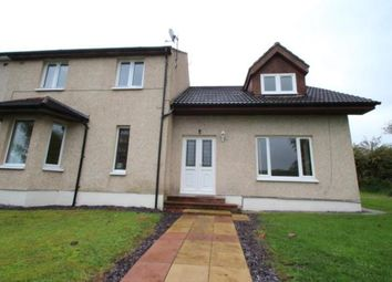 Thumbnail 4 bed semi-detached house for sale in Hill Drive, Eaglesham, East Renfrewshire