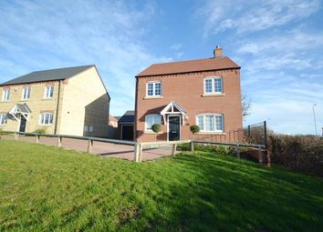 Thumbnail 4 bed detached house for sale in Kelmarsh Avenue, Raunds, Wellingborough, Northamptonshire