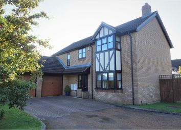 Thumbnail 4 bed detached house for sale in Roxton Road, Great Barford