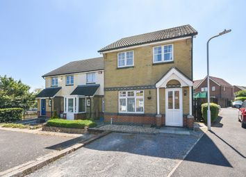 Thumbnail 3 bed terraced house for sale in Kipping Close, Hawkinge, Folkestone