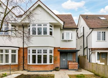 Thumbnail 4 bed semi-detached house for sale in Atwood Avenue, Richmond, Surrey