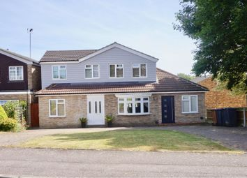 Thumbnail 5 bed detached house for sale in The Crest, Sawbridgeworth