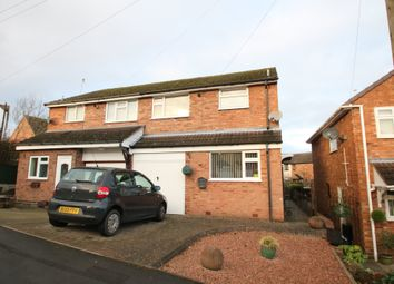 Thumbnail 3 bed semi-detached house for sale in Oakwood Close, Grendon, Atherstone