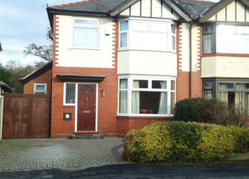 Thumbnail 3 bed property to rent in Windsor Drive, Grappenhall, Warrington