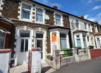 Thumbnail 4 bed terraced house for sale in Penhevad Street, Grangetown, Cardiff