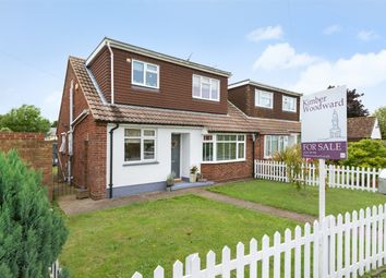 Thumbnail 3 bed semi-detached bungalow for sale in Margate Road, Broomfield, Herne Bay, Kent