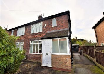 Thumbnail 3 bed semi-detached house to rent in Glenmere Road, East Didsbury, Didsbury, Manchester