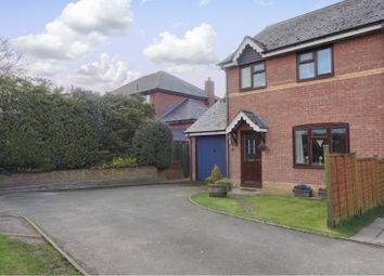 Thumbnail 3 bed semi-detached house for sale in Criggion Lane, Trewern, Welshpool