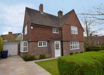 Thumbnail 3 bed semi-detached house for sale in Brookland Rise, Hampstead Garden Suburb, London