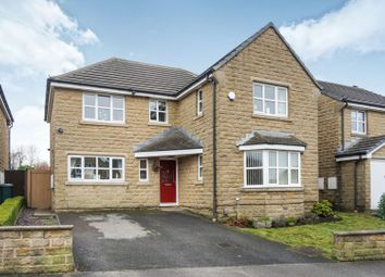 Thumbnail 4 bed detached house for sale in Stonehouse Drive, Bradford