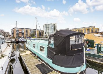 Thumbnail 1 bedroom houseboat for sale in Limehouse Basin, London