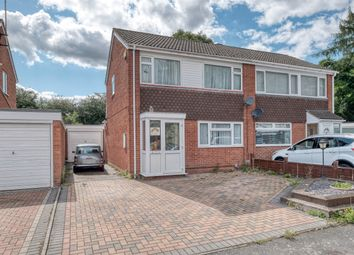 Thumbnail 3 bed semi-detached house for sale in Kenchester Close, Matchborough East, Redditch