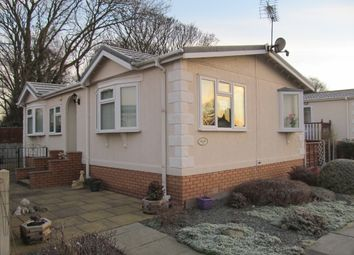 Thumbnail 2 bed mobile/park home for sale in Alderlee Park, Turning Lane, Scarisbrick, Nr Southport, Lancashire