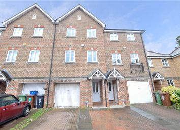 Thumbnail 4 bed terraced house for sale in Montague Hall Place, Bushey, Hertfordshire