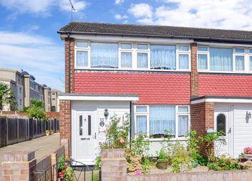 Thumbnail 3 bedroom end terrace house for sale in Cedar Close, Buckhurst Hill, Essex