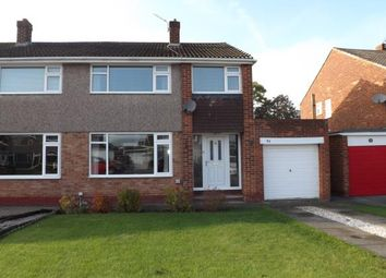 Thumbnail 3 bed semi-detached house for sale in Butterfield Drive, Eaglescliffe, Stockton On Tees
