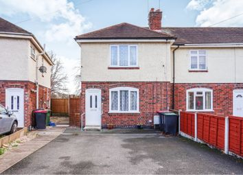 Thumbnail 2 bed end terrace house for sale in Queens Road, Atherstone