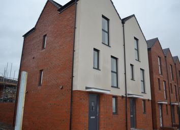 Thumbnail 3 bed town house to rent in Langdon Road, St Thomas, Swansea