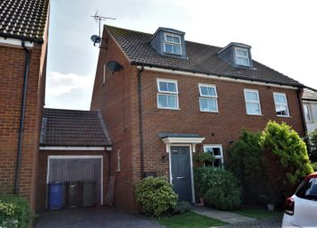 Thumbnail 3 bed semi-detached house for sale in Brambles Close, Sheerness