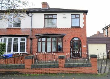 Thumbnail 3 bed semi-detached house for sale in Balmoral Drive, Denton, Manchester