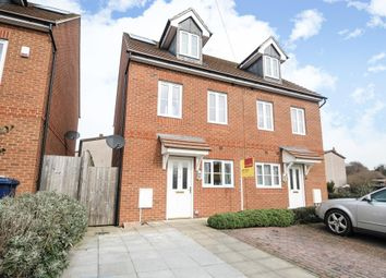 Thumbnail 3 bed semi-detached house to rent in Cottesmore Road, East Oxford