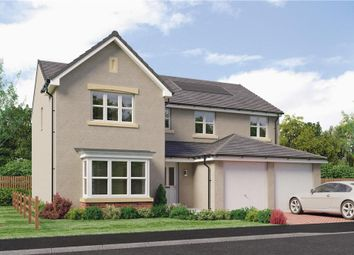 "Thumbnail 5 bed detached house for sale in ""Rossie"" at Burdiehouse Road, Edinburgh"