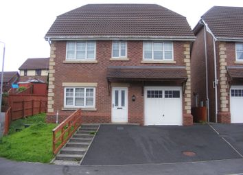 Thumbnail 4 bed detached house to rent in Maes Conwy, Llanelli