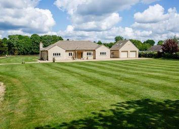 Thumbnail 5 bedroom detached bungalow for sale in 37 West End Road, Maxey, Peterborough