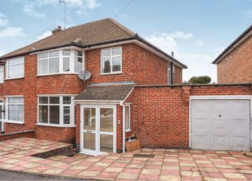 Thumbnail 3 bed semi-detached house for sale in Castleford Road, Braunstone Town