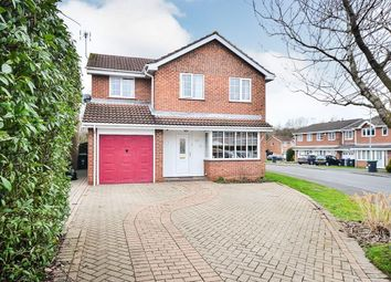 Thumbnail 4 bed detached house to rent in Cypress Court, Hucknall, Nottingham