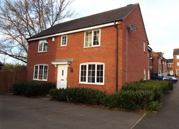 Thumbnail 3 bed detached house to rent in Erringtons Close, Oadby, Leicester