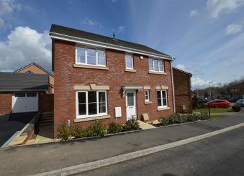 Thumbnail 4 bed detached house to rent in Heol Miaren, Llanharry, Pontyclun