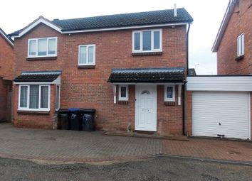 Thumbnail 4 bed detached house for sale in Glade Close, Little Billing, Northampton