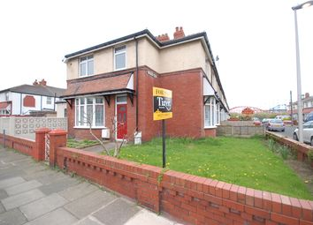 Thumbnail 3 bed end terrace house for sale in The Crescent, Blackpool, Lancashire