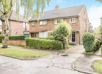 Thumbnail 3 bed semi-detached house for sale in Bowershott, Letchworth Garden City, Hertfordshire, England