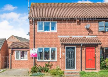 Thumbnail 3 bed semi-detached house for sale in Foxglove Close, North Walsham
