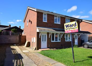 Thumbnail 2 bed semi-detached house for sale in Finglesham Court, Maidstone, Kent