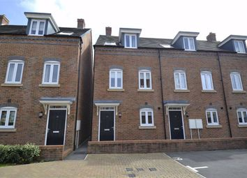 Thumbnail 4 bed town house for sale in Carpenters Close, Newbury, Berkshire