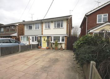 Thumbnail 3 bed semi-detached house for sale in Windermere Avenue, Hullbridge, Hockley
