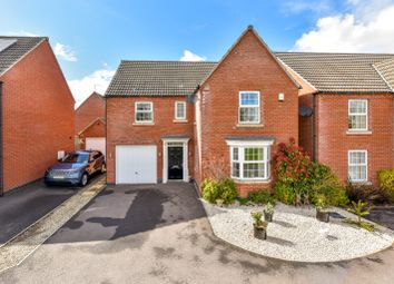 Thumbnail 4 bed detached house for sale in Southwold Close, Market Harborough, Leicestershire