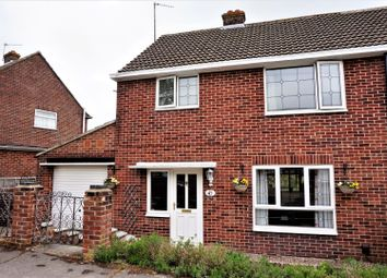 Thumbnail 3 bedroom semi-detached house for sale in Kingsley Close, Newbury