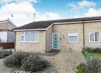 Thumbnail 2 bedroom semi-detached bungalow for sale in St. Benedicts Road, Brandon