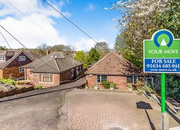 Thumbnail 3 bed bungalow for sale in Snodhurst Avenue, Walderslade, Chatham