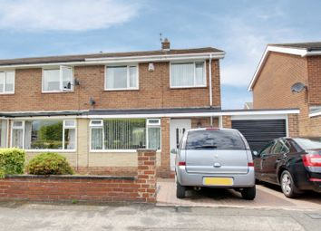 Thumbnail 3 bed semi-detached house for sale in Callander, Chester Le Street, Durham