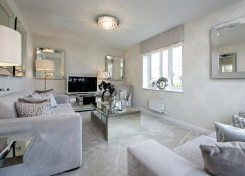 """Thumbnail 3 bedroom detached house for sale in """"Morpeth"""" at High Street, Watchfield, Swindon"""