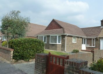 Thumbnail 2 bedroom detached bungalow to rent in Cowdray Drive, Goring By Sea, West Sussex